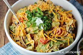 Cold Pasta Salad Recipe Creamy Taco Pasta Salad Real Housemoms