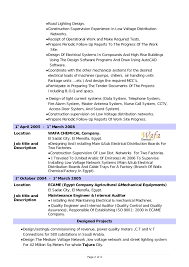 Systems Engineer Resume Examples by Design Electrical Engineer Cv