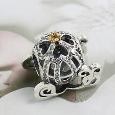 pandora charm bracelet sterling silver images 2015 new 925 sterling silver 14k real gold cinderella pumpkin jpg