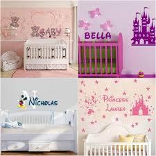 chambre fille disney stickers chambre bébé déco magique disney pour votre loulou