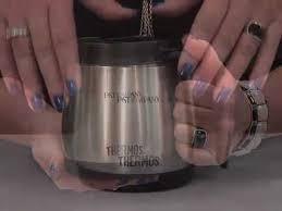 Desk Mug Thermos Thermocafe Desk Mug 0 45l Purple Kitche Review Youtube