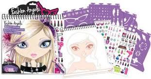 buy fashion angels trendfolio beauty design sketch portfolio from