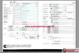 cummins ecm wiring diagram youtube diagrama de cableado del isb