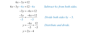 solving equations with variables