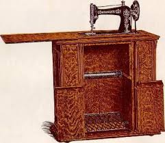 Singer Sewing Machine Cabinets by Singer Drawing Room Sewing Machine Cabinets No 21 And No 22