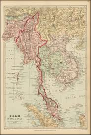 Map Burma Siam Burma U0026 Anam Barry Lawrence Ruderman Antique Maps Inc
