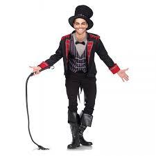 Halloween Circus Costumes Sinister Ringmaster Mens Circus Costume Halloween Costume Adults