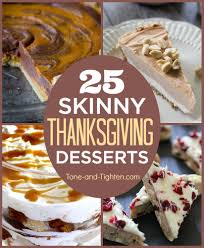 25 thanksgiving dessert recipes tone and tighten