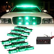 golf cart led strobe lights new 12v 54 led strobe lights car police beacon warning emergency