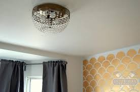 Pottery Barn Kids Chandeliers Mistakes Knocking Off A Pottery Barn Mia Faceted Crystal Pendant