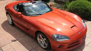 2005 dodge viper srt 10 copperhead edition f205 dallas 2016