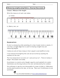 how to use a ruler worksheet free worksheets library download