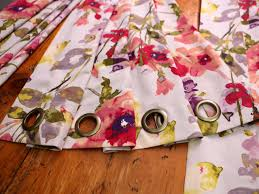how to sew curtains with grommets memsaheb net