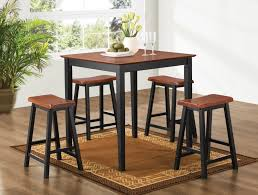 furniture piece open pub table stools set rustic tables bar and