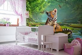stickers geant chambre fille décoration murale chambre d enfant sticker animaux papier peint