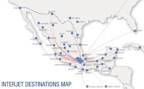 Alaska Airlines Map by Interjet World Airline News