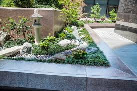 new japanese garden surrounds dallas high rise u s japanese gardens