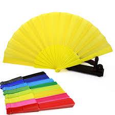 folding fans portable folding fan summer plastic handheld fans wedding party