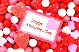 candy s day card happy valentines day stock image image of heart message 36388837