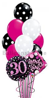30th birthday balloon delivery 30th birthday girl helium balloon bouquet delivery in dubai abu