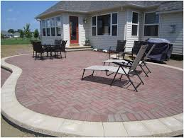 backyards beautiful backyard bricks backyard brick patio cost