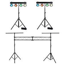 dj lighting truss package 2 american dj lighting dotz tpar system slim cob led stands with