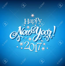 happy new years posters happy new year 2017 sign on blue background calligraphy text