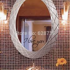 Mirror Decals For Bathrooms - 100 mirror decals home decor diy family removable art wall