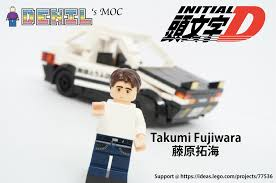moc initial d 20th anniversary lego town eurobricks forums