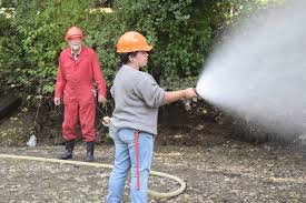 Wildfire Training by Port Alberni Nic Students Learn Wildfire Suppression Port