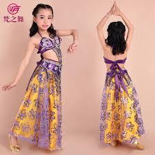 new design children belly dance costume 3pcs 2pcs indian high