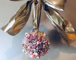 jeweled ornaments etsy