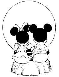 mickey mouse outline clip art library