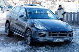 2015 Porsche Cayenne S - facelift porsche cayenne possibly the turbo s spied