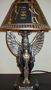 Sculpture Table Lamps 16 Best Egyptian Style Table Lamps Images On Pinterest Table