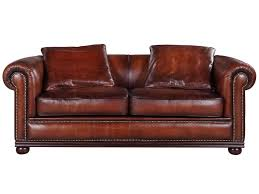 Chesterfield Sofa Antique Lord Sofa In Hand Dyed Leather