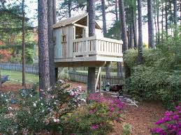 Backyard Treehouse Ideas 164 Best Swing Sets Forts Tree Houses Images On Pinterest