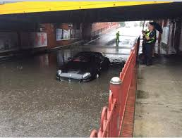 maserati melbourne guys drives maserati into a flooded street in melbourne a