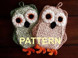 Crochet Owl Rug Free Crochet Owl Patterns Free Crochet Pot Holder Patterns