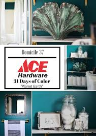 vintage moody bathroom refresh with ace hardware ace hardware