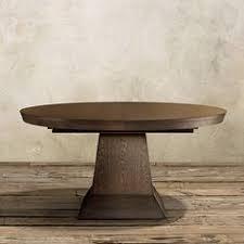 leighton dining room set leighton extension pedestal dining table in burnished brown arhaus
