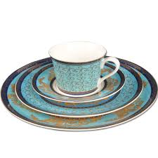 ceramic western dish set 8 flat plate swing sets decoration plate