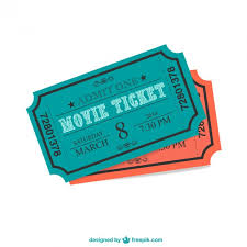 cinema ticket vector free download
