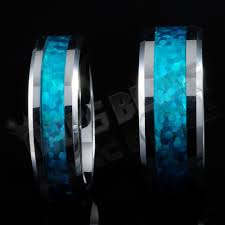 blue opal mens opal ring ebay