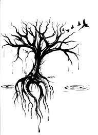 tree roots search tattoos tree