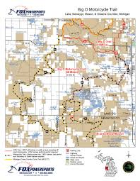 Snowmobile Trail Maps Michigan by Orvs Trail Maps U2013 State Of Michigan
