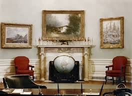 Oval Office Layout 1 Answer To What Extent Has The Oval Office Been Optimized Quora