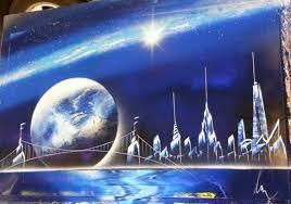 Spray Paint Artist - nyc street art spray paint art space painting