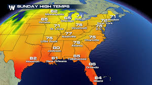 us weather map this weekend warm temperatures continue for the interior u s this week