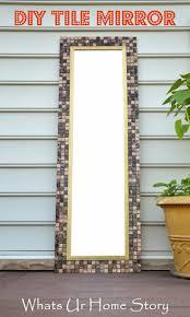 best 25 tile mirror frames ideas on pinterest tile mirror tile